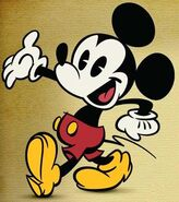 Mickey as he appears in his new made-for-TV shorts.