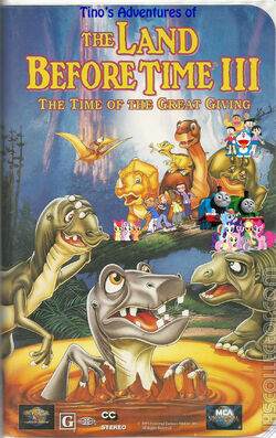 Tino's Adventures of The Land Before Time III