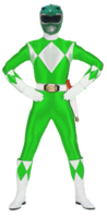 MMPR-Green 1993 Bandai version