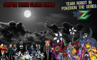 Team Robot in Pokémon XY&Z Villains Poster (Remake)
