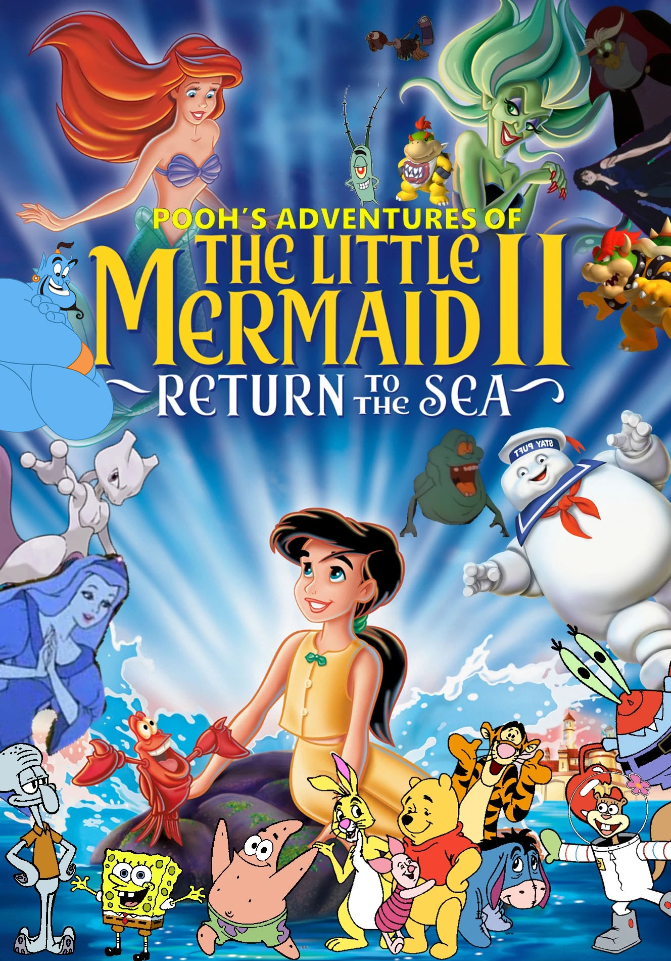 Pooh S Adventures Of The Little Mermaid Ii Return To The