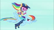 Two Rainbow Dash