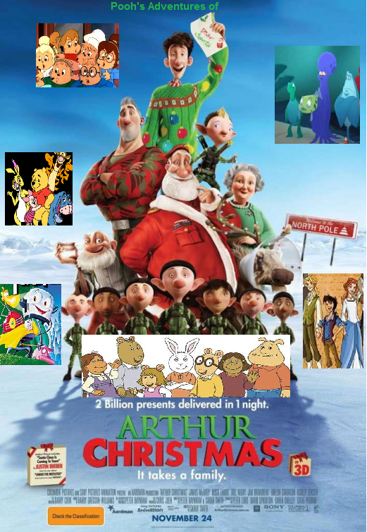 Arthur Christmas Poster.Pooh S Adventures Of Arthur Christmas Pooh S Adventures