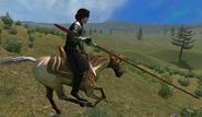 Long knight lance female