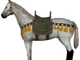 Noldor Goldleaf Warhorse