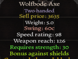 Wolfbode Axe