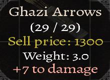 Ghazi Arrows
