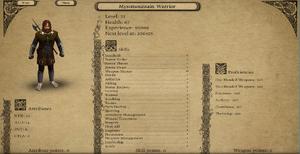 Mystmountain Warrior