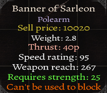 Banner of Sarleon