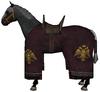 War horse burgundy