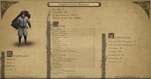 Empire Levy Recruit