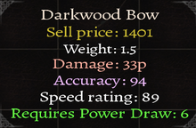 Darkwood Bow