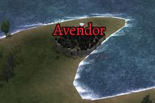 Avendor Map