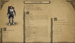 Vecaavi knight info