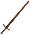 Mesh practice sword