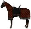 War horse red