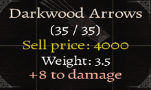 Darkwood Arrows