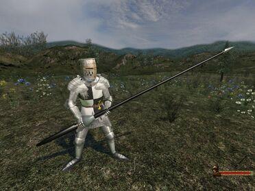 Long Knight Lance