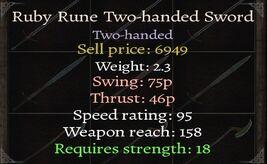 Ruby-Twohander-Stats