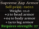Supreme Asp Armor