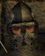Wolf skull helmet male