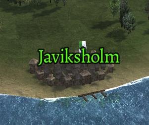 Javiksholm Map