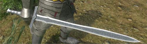 Runed Bastard Sword 1