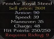 Pendor Royal Steed