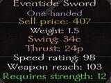 Eventide Sword