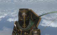 Black Helm with Crown - Darlion