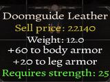 Doomguide Leather