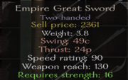 EmpireGreatSword