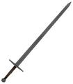 Mesh bastard sword a