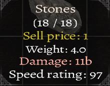 Stones Stats-0