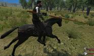 Long knight lance male