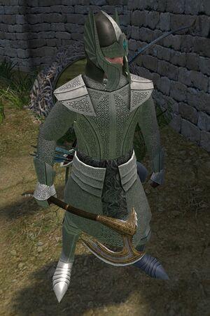 Dragonspine-axe