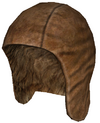 Leather cap a new