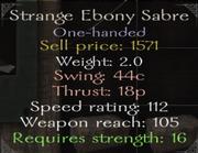 StrangeEbonySabre