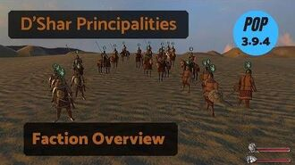 D'Shar Principalities Faction Overview Guide - Prophesy of Pendor 3.9.4 POP Mount & Blade WB