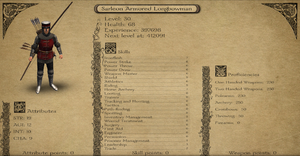 Sarleon Armored Longbowman