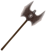 Mesh barbar axe 2h