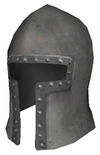 Steel barbutte