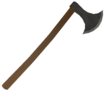 Mesh one handed battle axe a