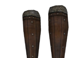 Splinted Leather Greaves