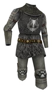 Mesh armour wolfsguard