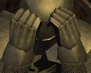 Supreme steel gauntlets male