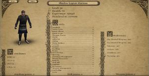 Shadow Legion Marinus 3.9