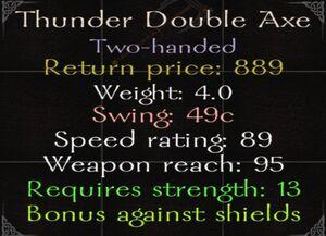Thunder-double-axe