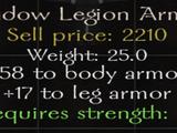 Shadow Legion Armor