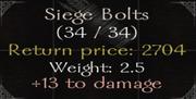 SiegeBolts